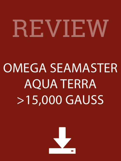 Omega Seamaster Aqua Terra Gauss