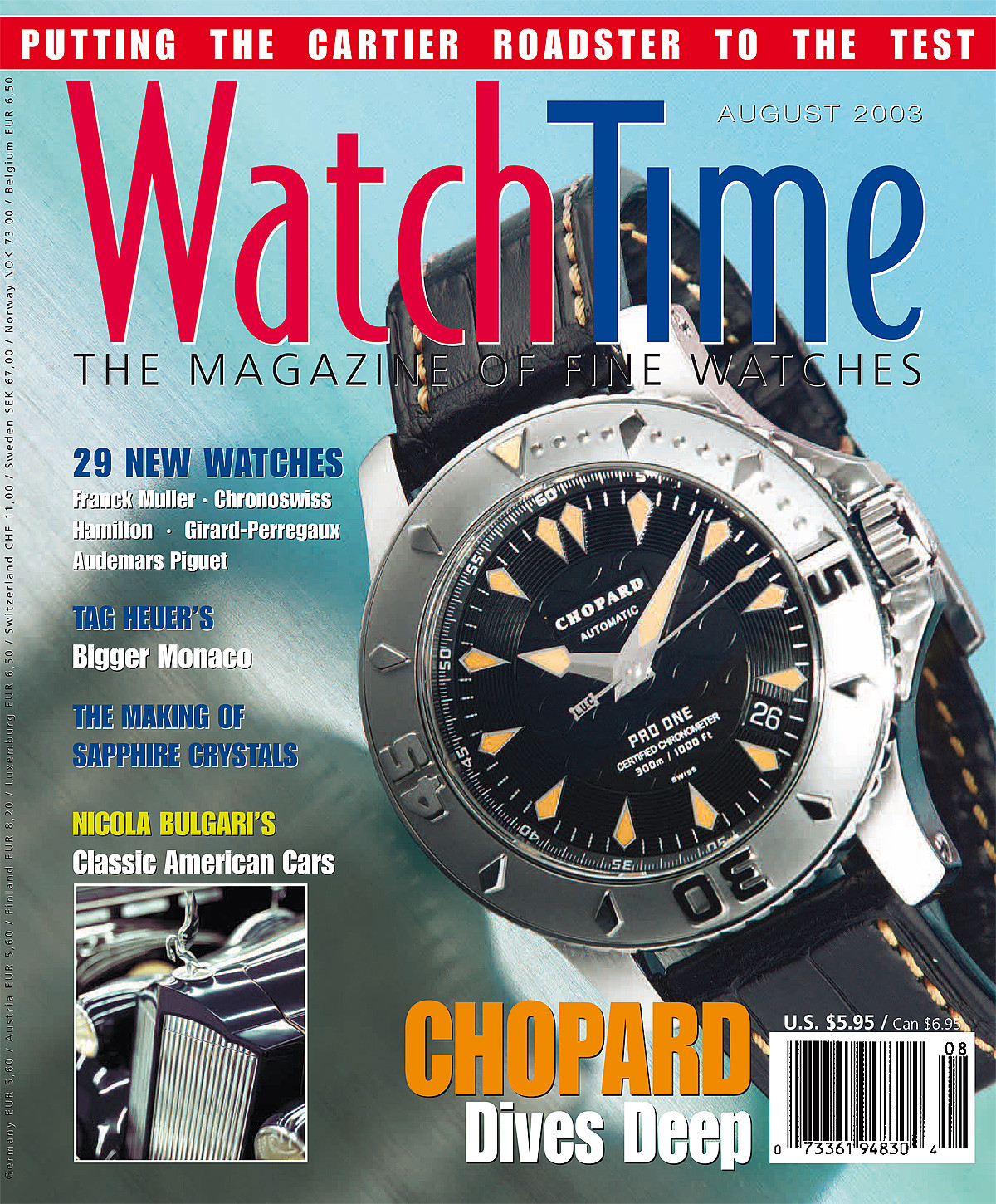 WatchTime August 2003