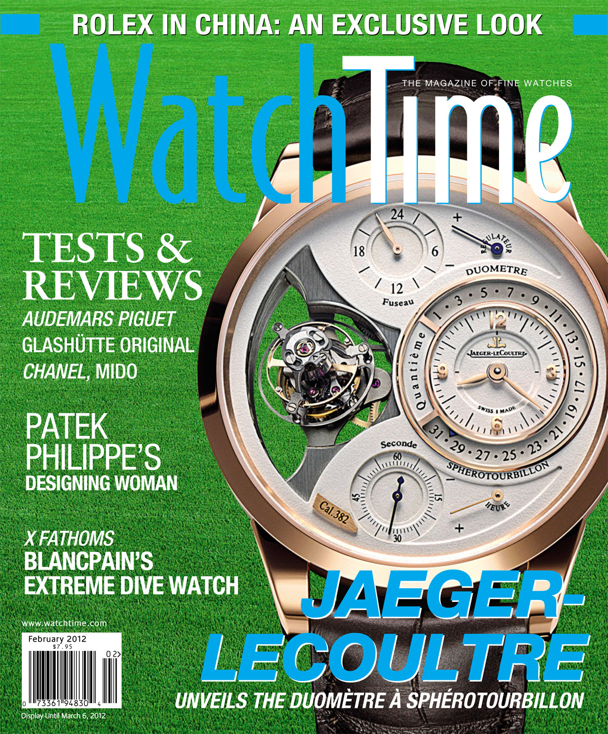 WatchTime February 2012