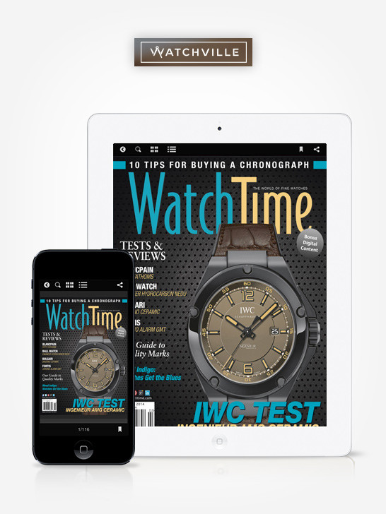 WatchVille Offer: Free 6-month Digital All Access Subscription of WatchTime