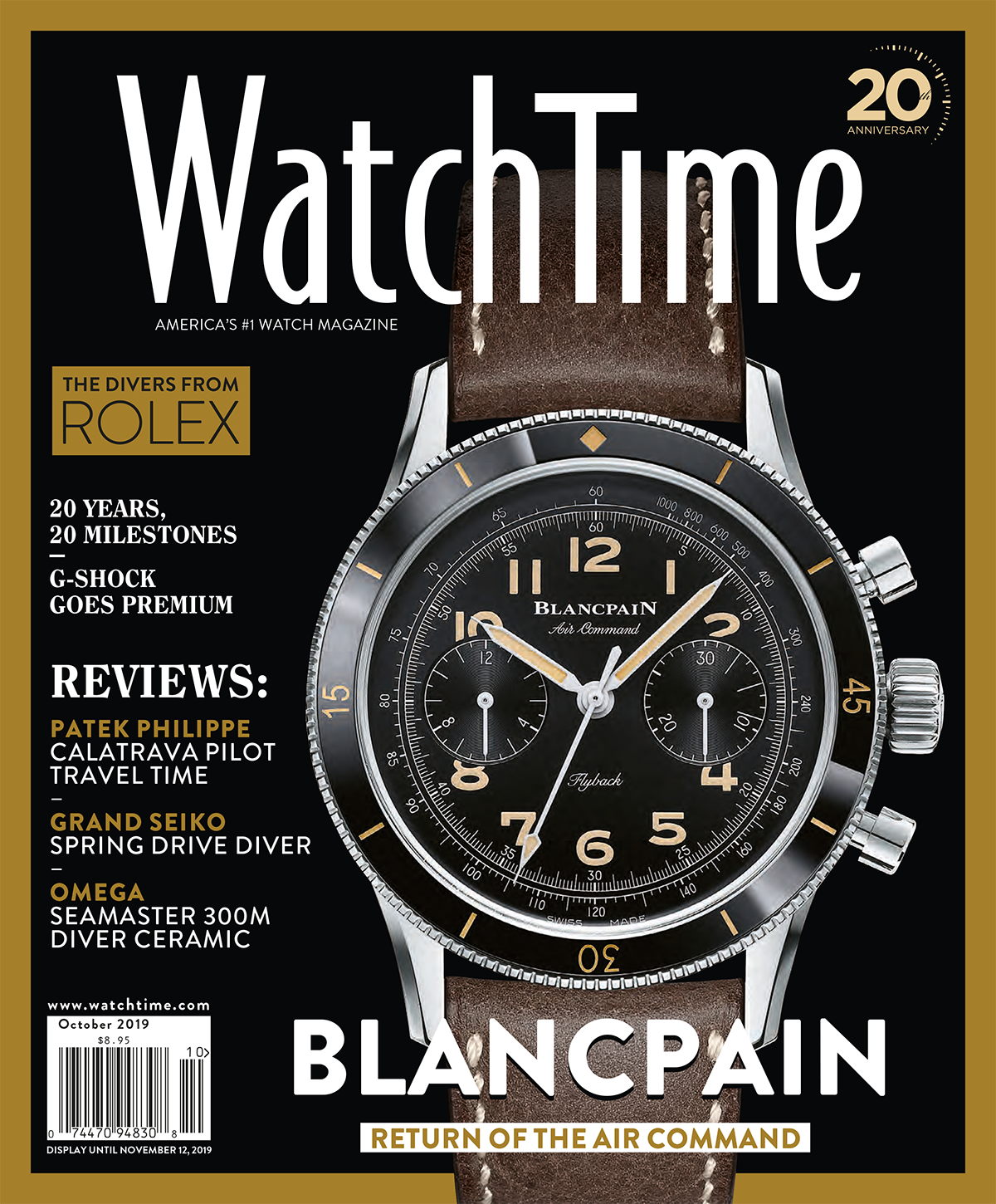 WatchTime October 2019