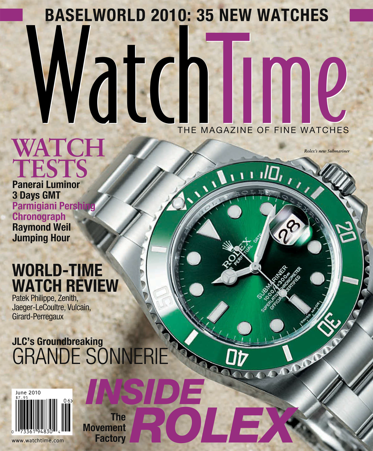 WatchTime June 2010