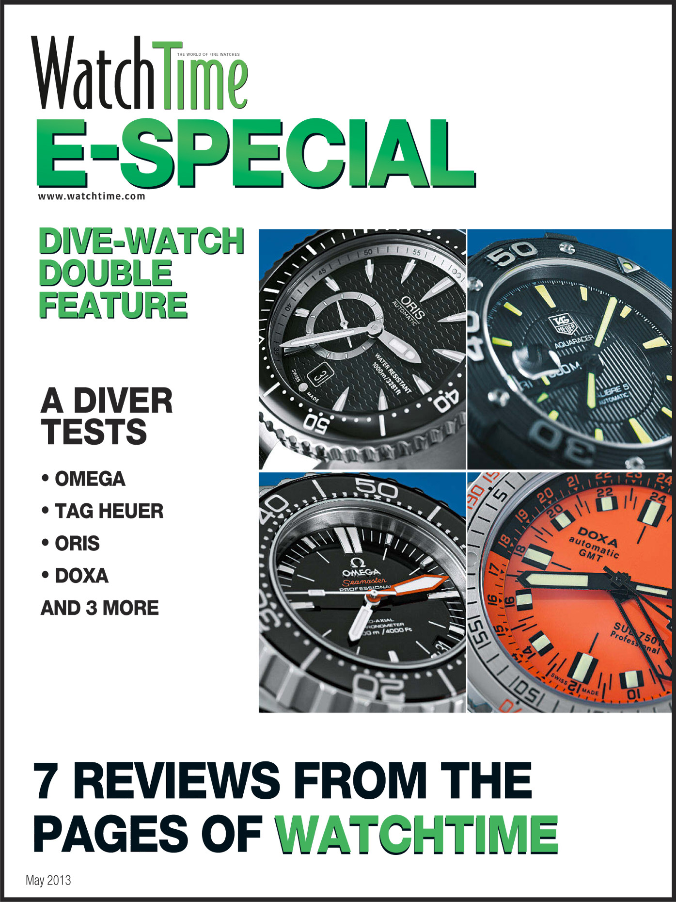WatchTime E-Special: Divers