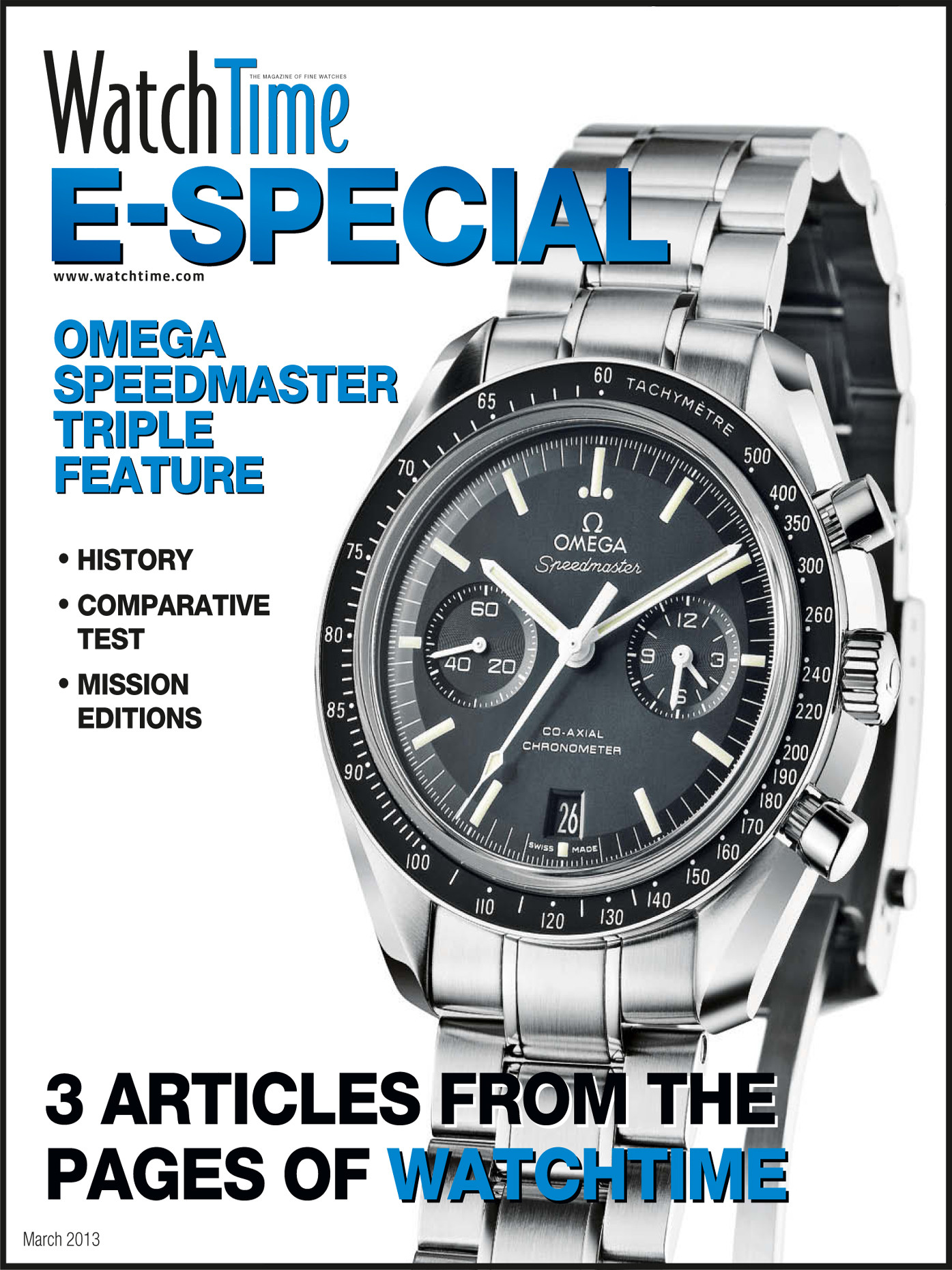 WatchTime E-Special: Omega