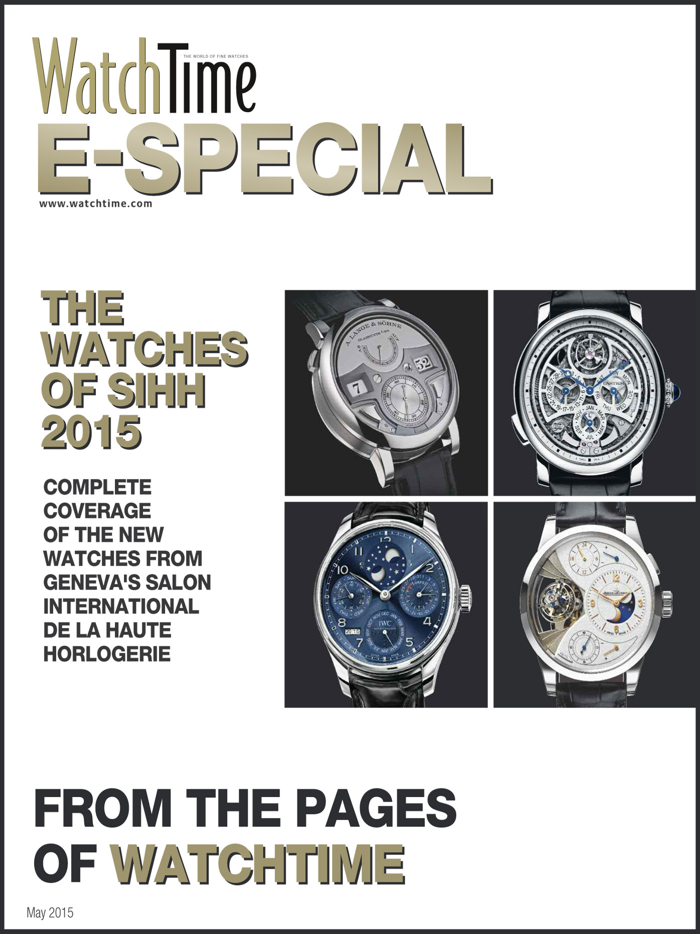 WatchTime E-Special SIHH 2015