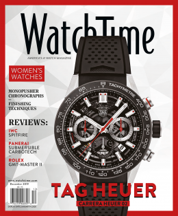 WatchTime December Issue 2019