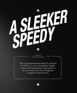 Cover Story: Omega Speedmaster Mark II