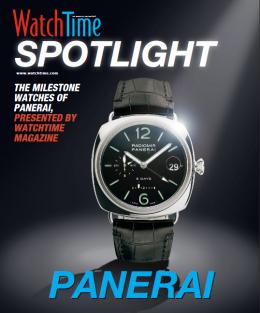 WatchTime Spotlight: Panerai