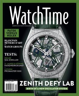 WatchTime December 2017: Citizen,Tag Heuer, Rolex, A. Lange & Söhne, Zenith, Blancpain, Patek Philippe, Bucherer, Watch Groups