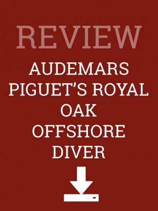 Audemars Piguet's Royal Oak Offshore Diver