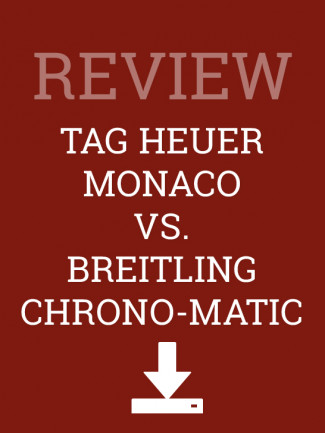 Review of Breitling Chrono-Matic and TAG Heuer Monaco