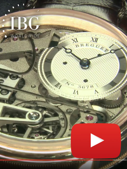 Breguet: Characteristics of the Tradition Minute Repeater Tourbillon
