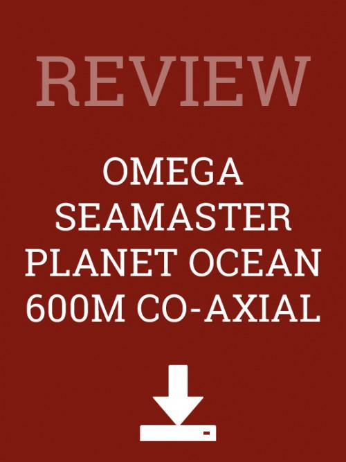 Omega Co-Axial