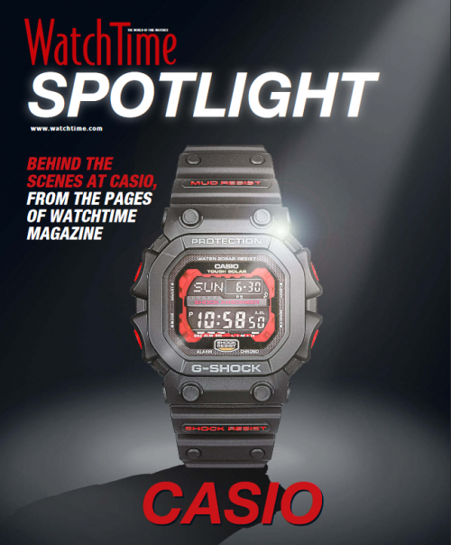 WatchTime Spotlight Casio