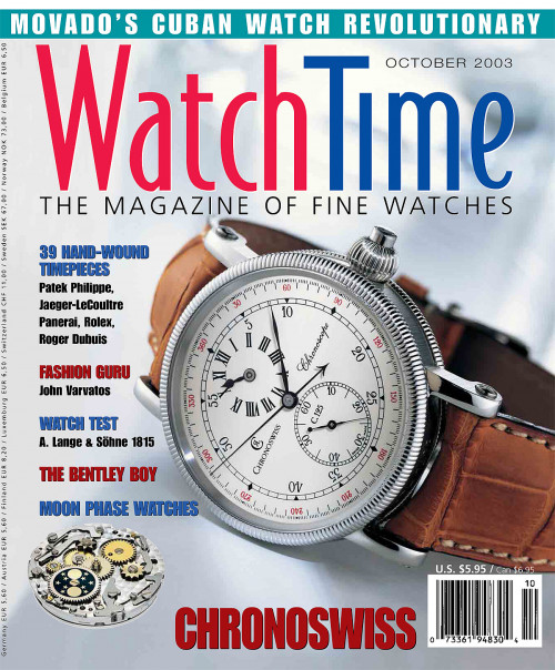 WatchTime October 2003
