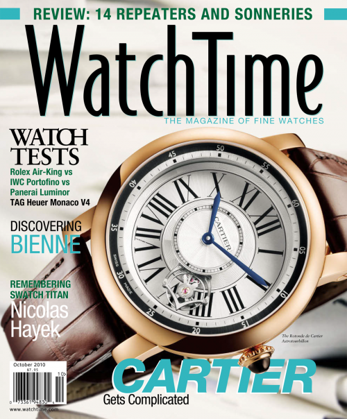 WatchTime October 2010