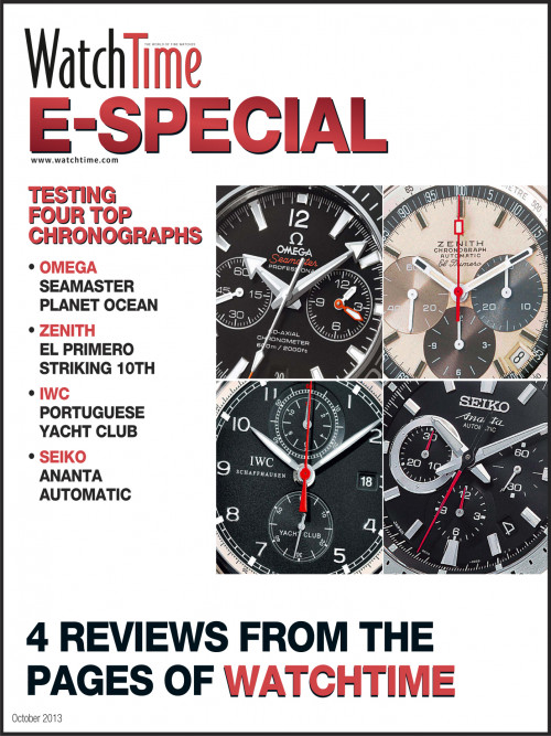 WatchTime E-Special: Four Top Chronographs