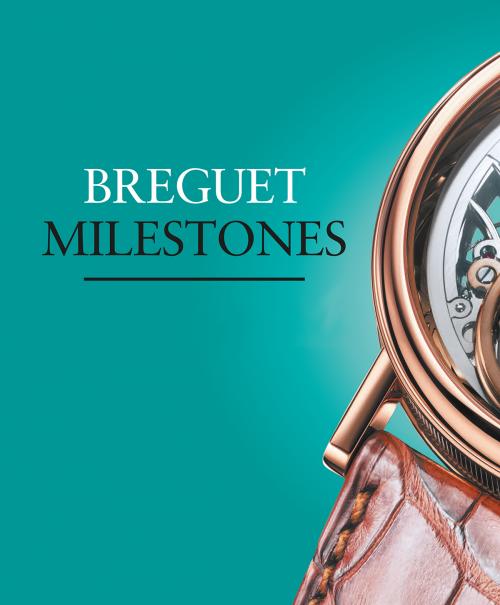Breguet Milestones