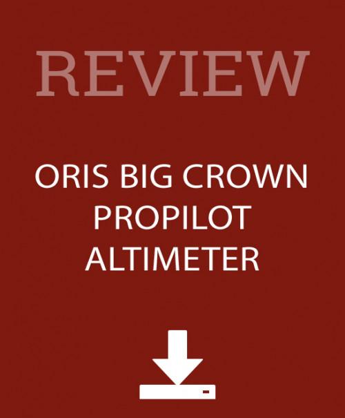 Oris Big Crown Review