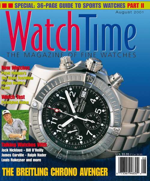 WatchTime August 2001