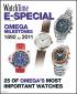 Omega Milestones 1892 to 2011